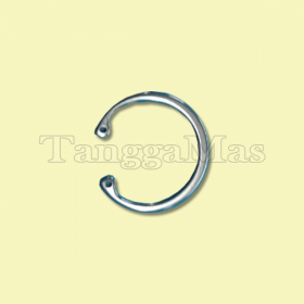 """Air Valve Snap Ring (15-2650-03) for Wilden Model T15 (3"""") Pump (Metal)"""