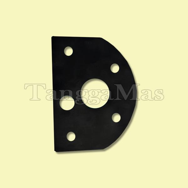 Block Gasket-Buna-N® Wilden Model T15 3 Inch (Metal)   Part Number 15-3520-52