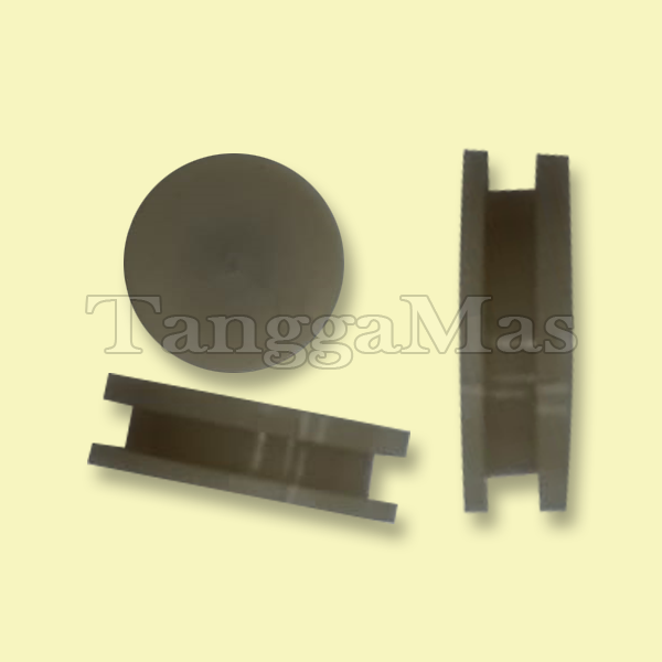 """End Cap without Guide(01-2330-23) for Wilden Model T1 (1/2"""") pump (metal & non-metal)"""