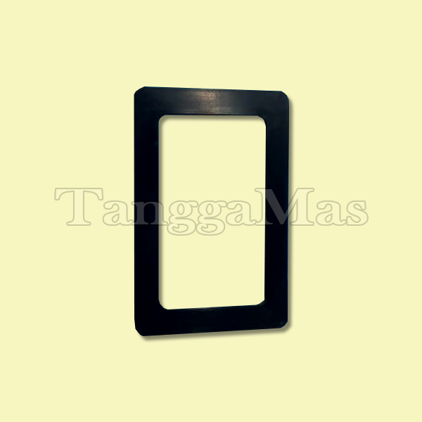 "02-3500-52-500-Muffler Plate Gasket-Buna-N® for Wilden Model T2 (1"") pump (metal & non-metal)"